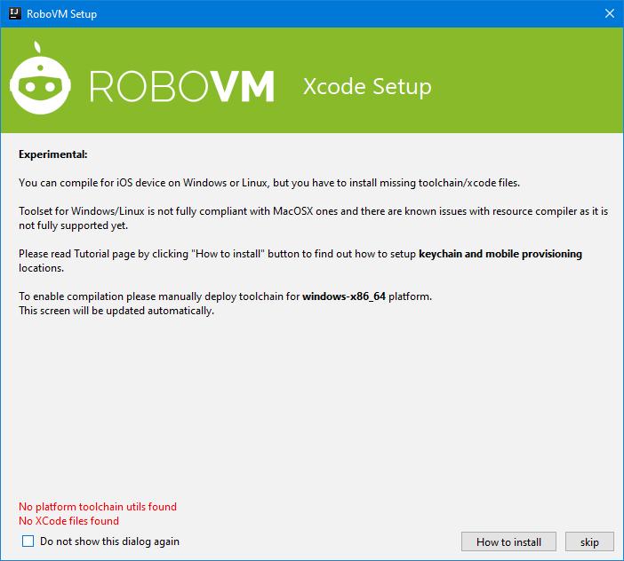 RoboVM MVP for Windows and Linux · dkimitsa's RoboVM
